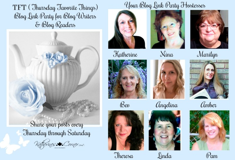 TFT blog link party hostesses