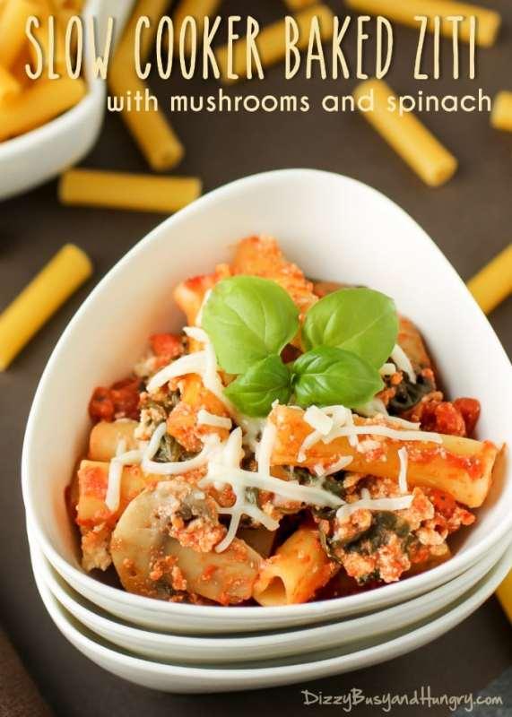 slow cooker pasta recipes