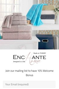 email list discount