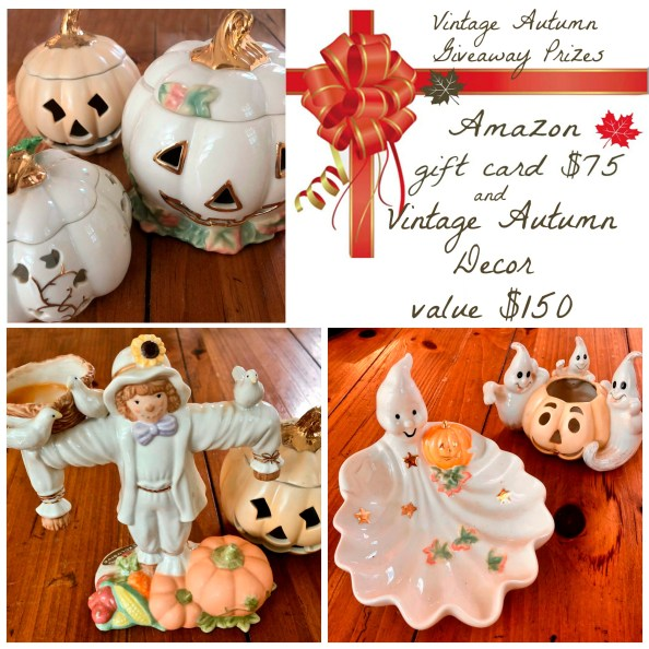 vintage autumn giveaway prizes