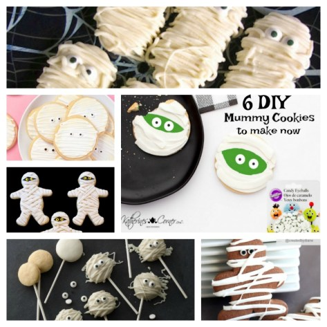 6 DIY Mummy Cookies to make now