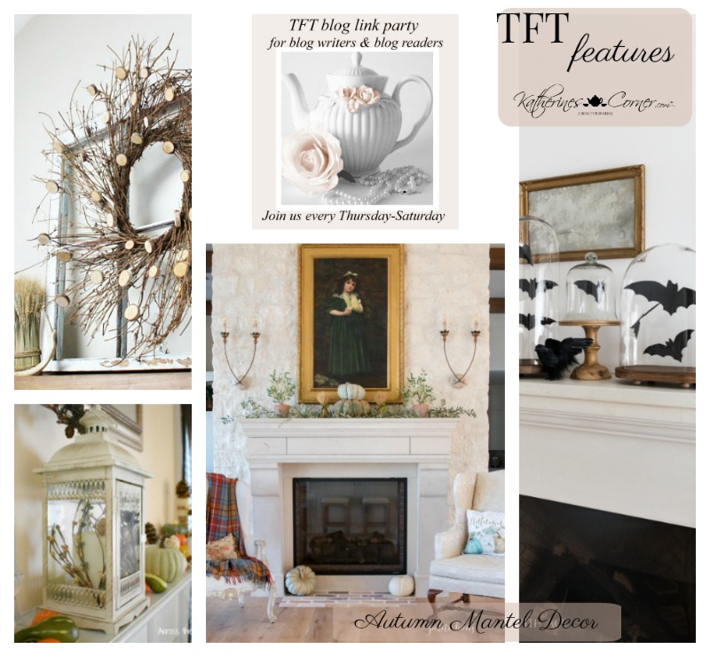 Autumn Mantel Decor TFT party