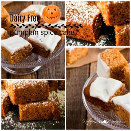 dairy free sugar free pumpkin spice cake recipe