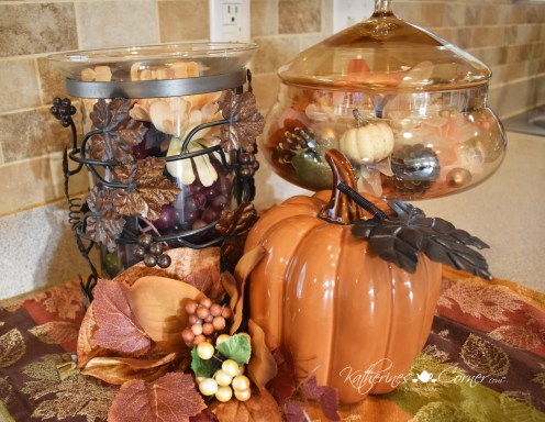 diy 15 minute autumn vignette 1