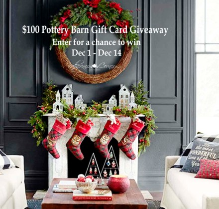 pottery barn gift card giveaway