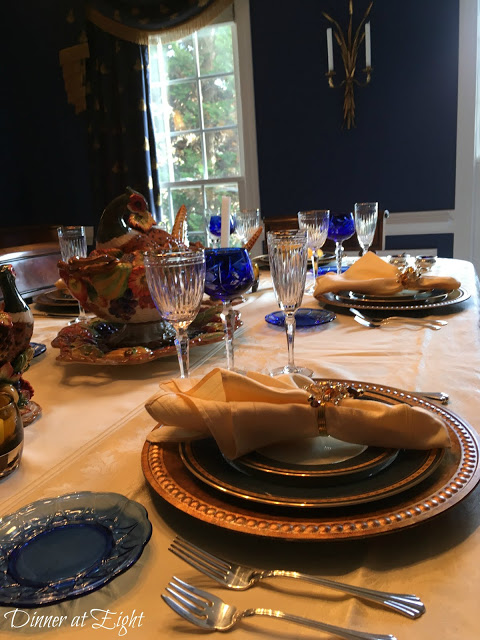tablescapes at the TFT link party