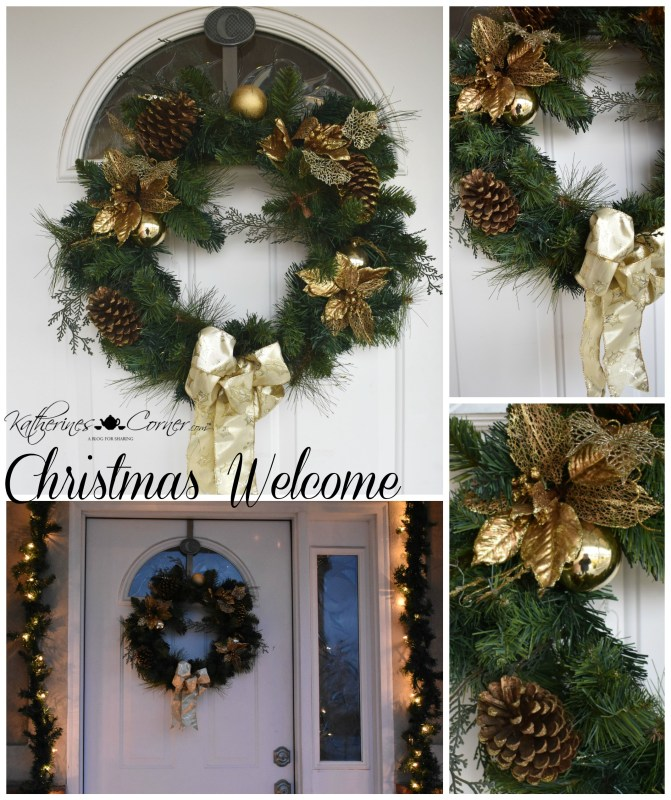 Christmas on the porch wreath