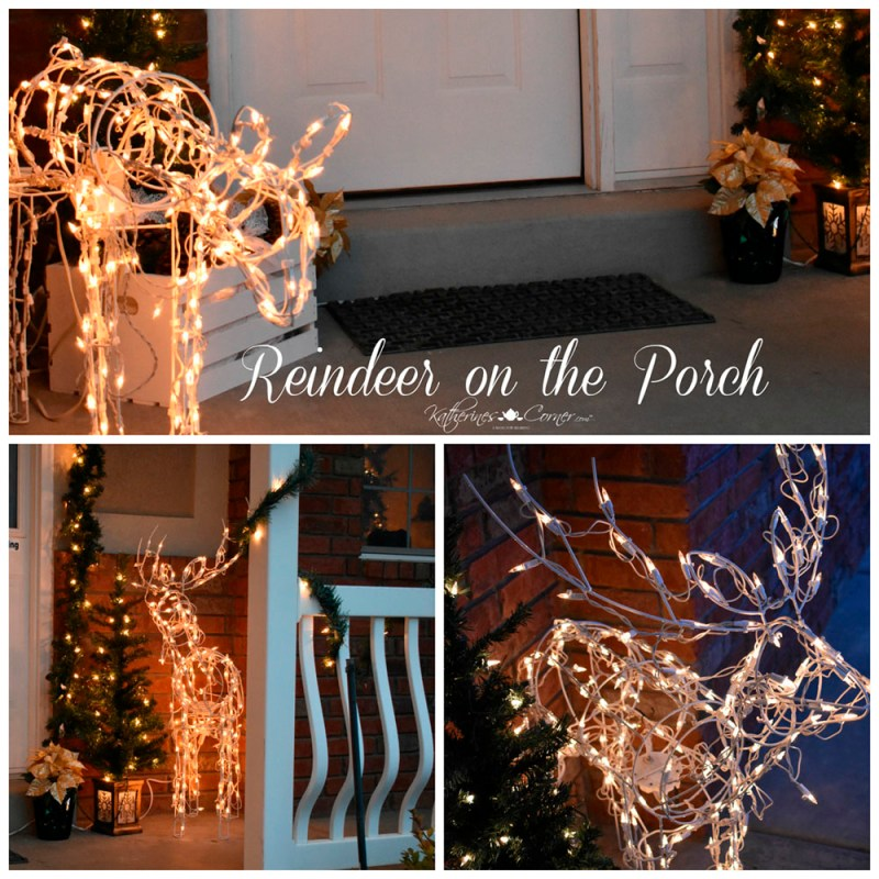 christmas on the porch reindeer