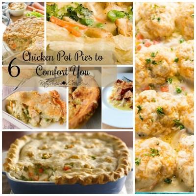 6 chicken pot pies to comfort you