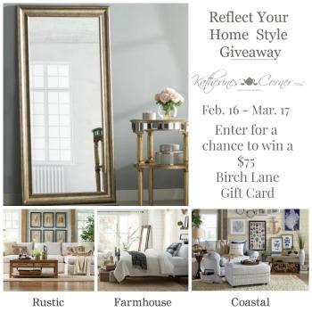 enter to win birch lane gift card