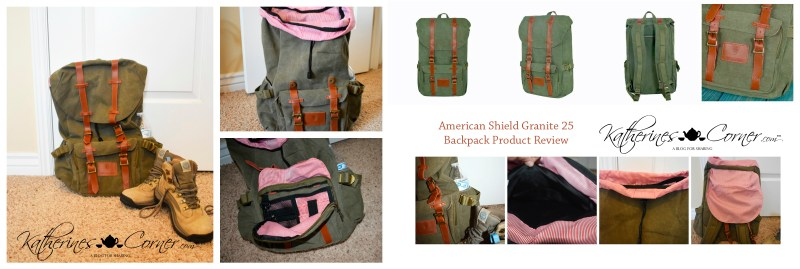 American Shield granite 25 backpack product review