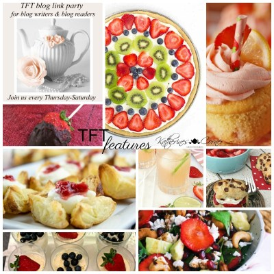 strawberries and the TFT blog hop