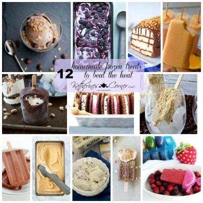 12 homemade frozen treats to beat the heat