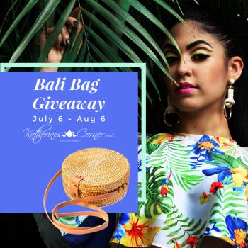 enter to win a round rattan bali bag purse