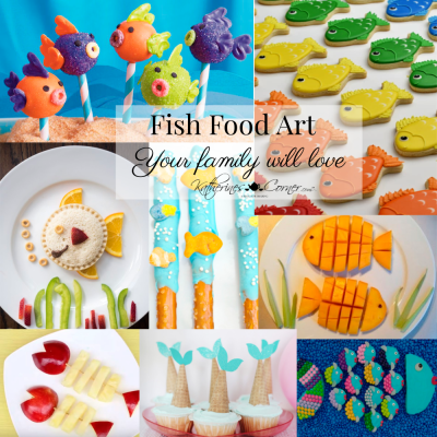 fish food art your family will love