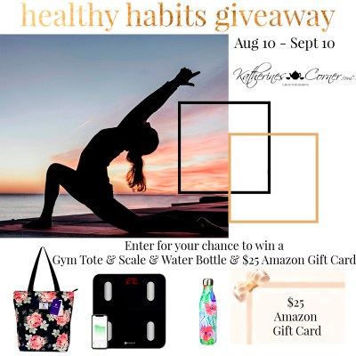 healthy habits giveaway