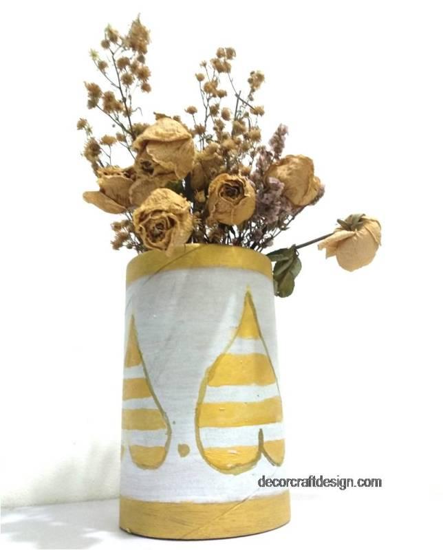 put autumn in here diy vase