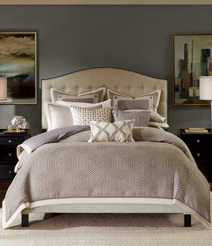 Madison Park Signature Shades of Grey Jacquard Comforter Set