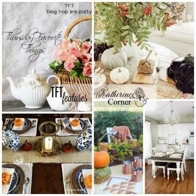 table talk and the TFT blog hop