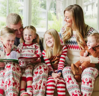 hanna andersson Matching Family Pajamas