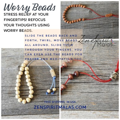 stress relief at your fingertips using worry beads