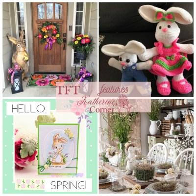 Easter bunny diy and decor