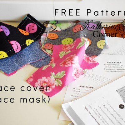 face cover face mask free pattern