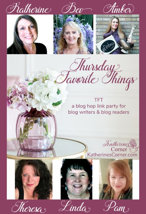 TFT Thursday Favorite Things Blog Hop