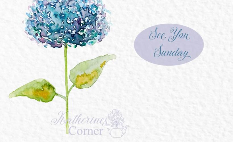 see you Sunday at katherines corner