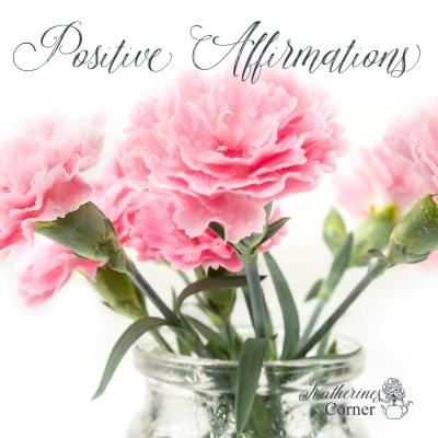 positive affirmation pink carnations katherines corner