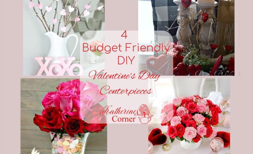 budget friendly diy valentines day centerpieces