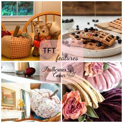 Pumpkin décor and a recipe