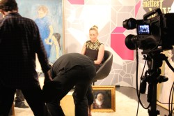 TV interview Mettes Mix, copenhagen