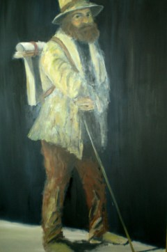 Portrait of Paul Cezanne - Katherine Scrivens