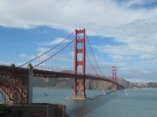After spending the afternoon in Sausalito, we took a bus over this to view it from the south side.