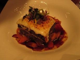 Short rib lasagna