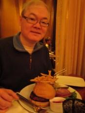 Dad's hamburger