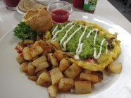 Southern California Frittata. One of the best things I ate all week!