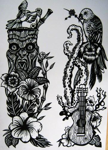 tropical print 2