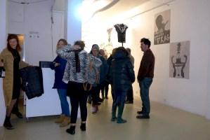 EL CUERPO ES EL SUJETO expo 2017. Pieza de vestuario para el artista Dj Frau Diamanda by Katheryn Berrios.Galería Weber-Lutgen Sevilla- España