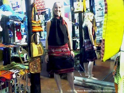 """Diseños de moda Étnica en la """"Revista Cusco Social""""cial"""""""