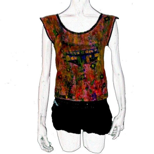 T-shirt Cascada de Color I