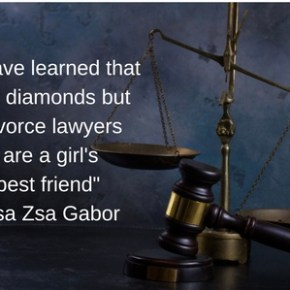 Lawyers are a Girls Best Friend, Not Diamonds…Zsa Zsa Gabor