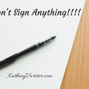 "The Journey; ""Don't Sign Anything"""