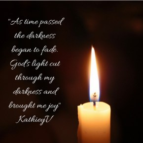 Morning Motivation; God's Light Can Cut Through Our Darkness