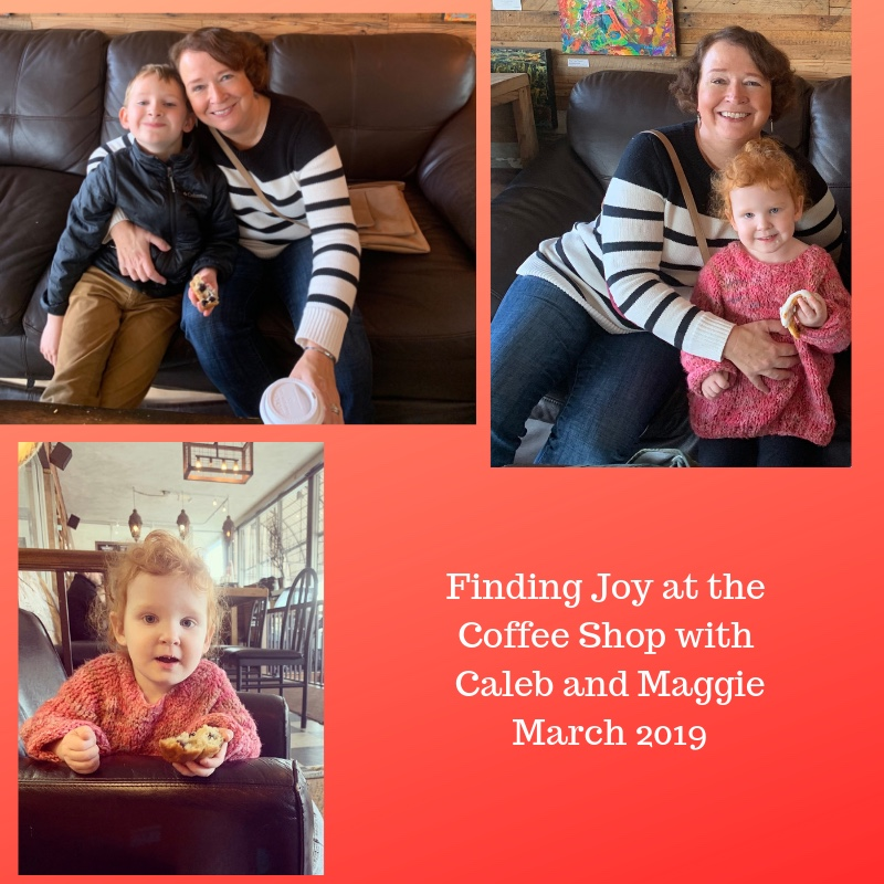 Finding Joy at the Coffee Shop with Caleb and Maggie March 2019