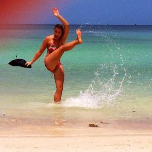 Kickin' it in Thailand