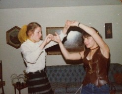 I danced with my sister, too!