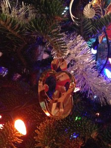 My Favourite Ornament - a family all wrapped up in one another.