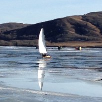 Ice that is perfect for sailing!